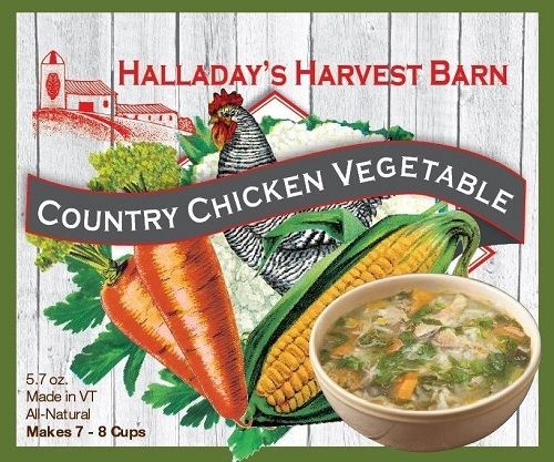 Halladay's Country Chicken Vegetable Soup Mix