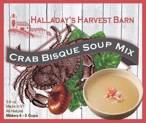 Halladay's Crab Bisque Soup Mix