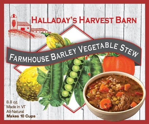 Halladay's Farmhouse Barley Vegetable Stew