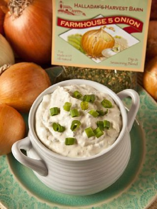 Halladay's Farmhouse Five Onion Dip & Cooking Blend