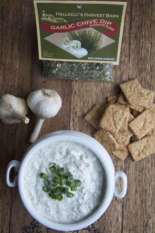 Halladay's Garlic Chive Dip & Cooking Blend