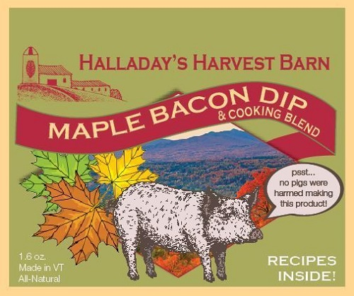 Halladay's Maple Bacon Dip & Cooking Blend