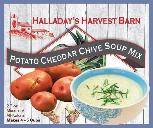 Halladay's Potato Cheddar Chive Soup Mix