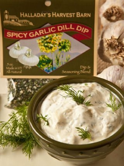Halladay's Spicy Garlic Dill Dip & Cooking Blend