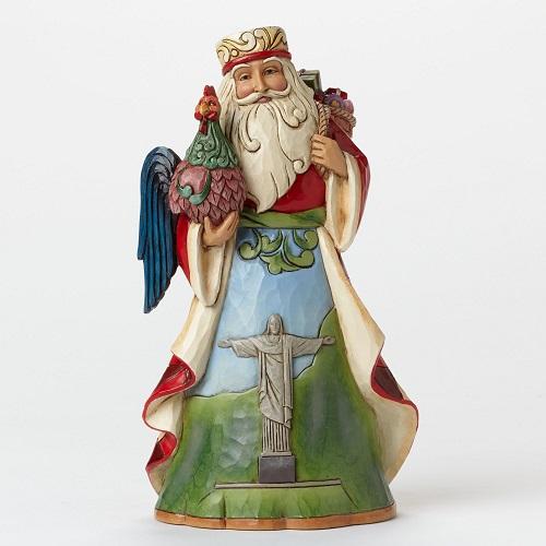 Jim Shore #4046767 Brazilian Santa