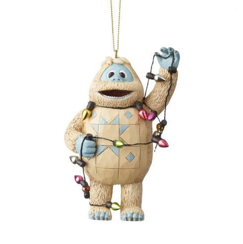 Jim Shore #6004152 Bumble Wrapped In Lights Ornament