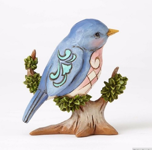 Jim Shore #4055061 Mini Bird on Branch