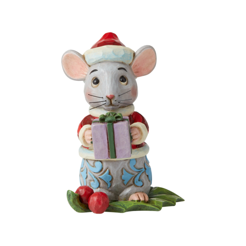 Jim Shore #6006663 Mini Christmas Mouse