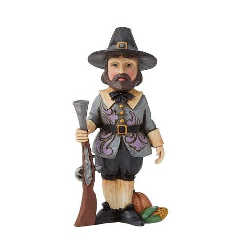 Jim Shore #6009474 Mini Harvest Pilgrim