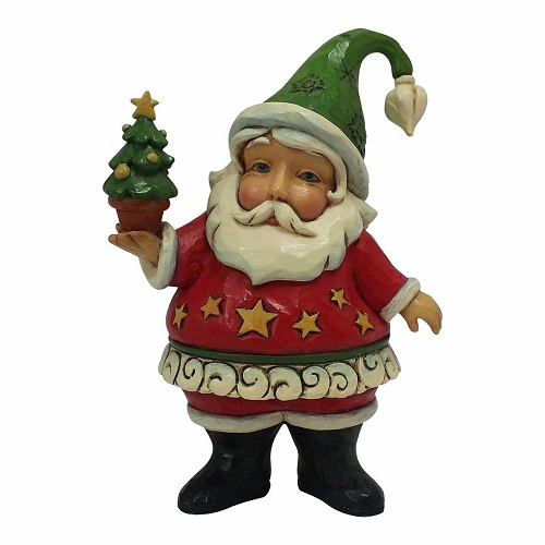 Jim Shore #4058810 Mini Santa with Tree