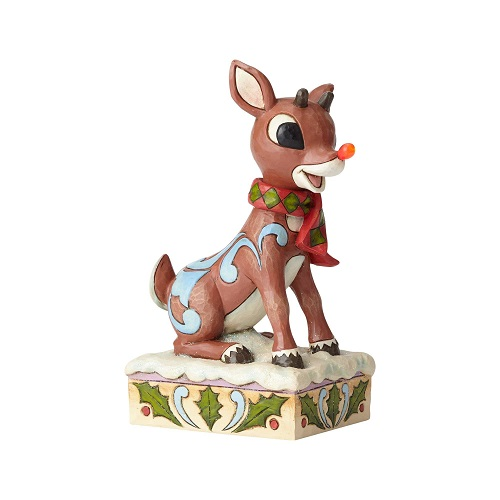 Jim Shore #6001591 Rudolph with Light Up Nose
