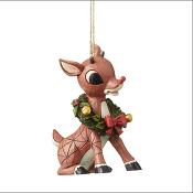 RudolphWithWreathOrnamentLittle