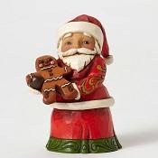 SantaHoldingGingerbreadManLittle