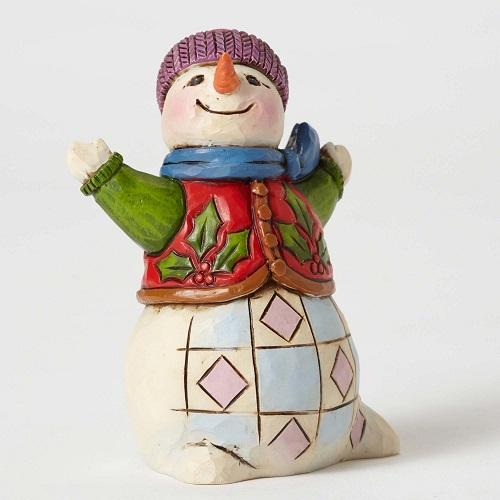 SnowmanHollyVestMiniLarge