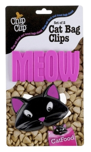 Chip Clip #90132 Cat Bag Clips (Set of 2)