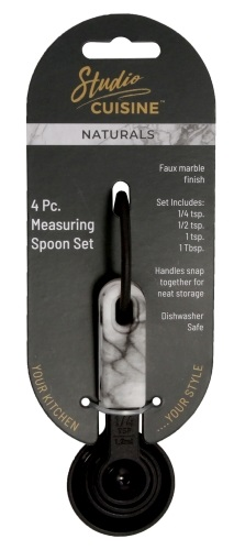 Studio Cuisine #70070 4 Pc. Measuring Spoon Set