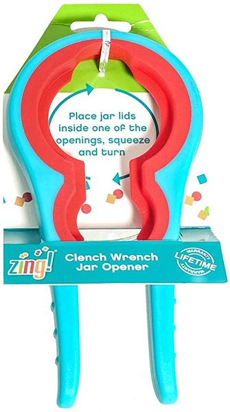 Zing #93188 Clench Wrench Jar Opener