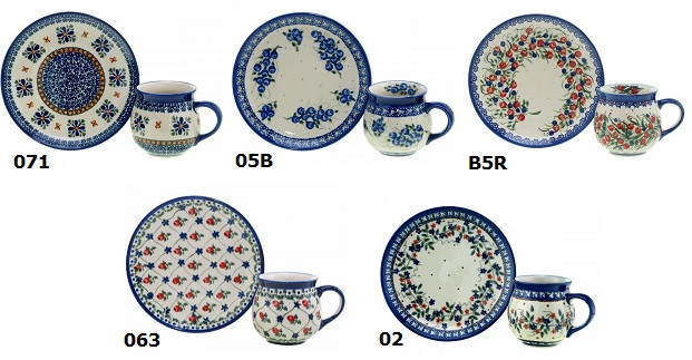 Polish Pottery Ceramika Millena Wiza And Zaklady Old Deerfield Extraordinary Polish Pottery Patterns