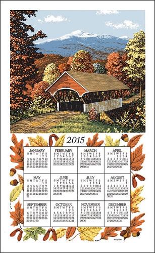 2015 Linen Calendar Towel (3221)