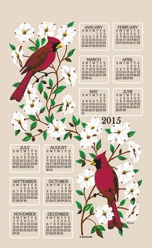 2015 Linen Calendar Towel (3213)