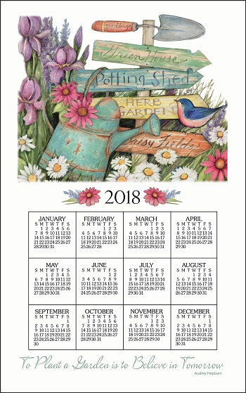 New 2018 Calendar Rectangle Calendar Wall Calendar 16 Months Psalms