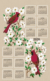 2020 Linen Calendar Towel (3213)