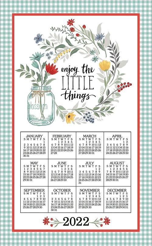 2022 Linen Calendar Towel (3389)