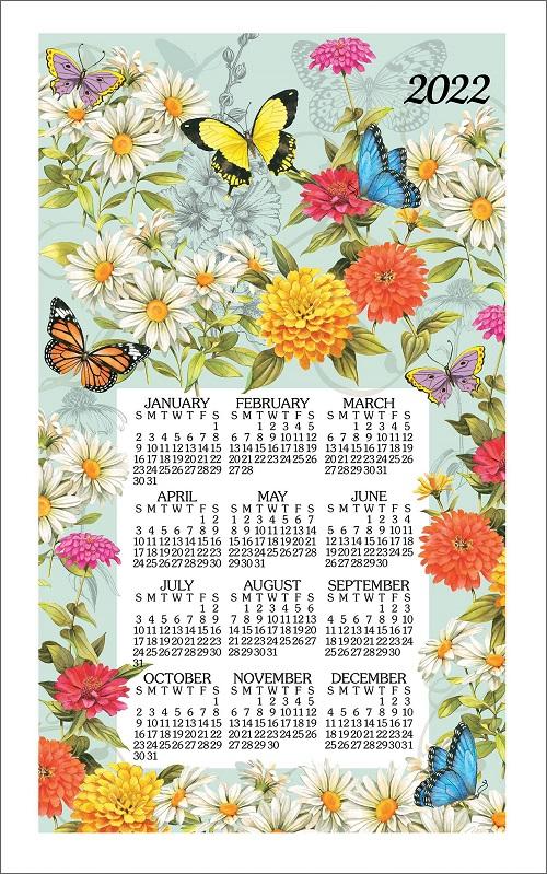 2022 Linen Calendar Towel (3382)