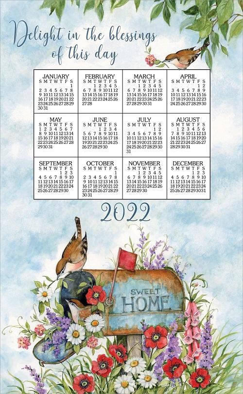 2022 Linen Calendar Towel (3391)