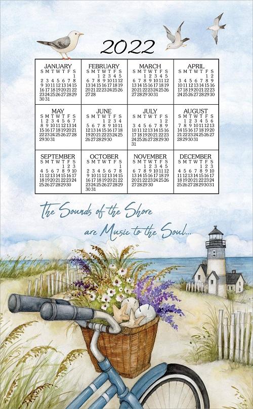 2022 Linen Calendar Towel (3392)
