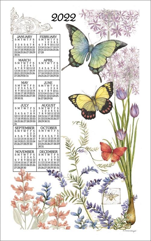 2022 Linen Calendar Towel (3383)