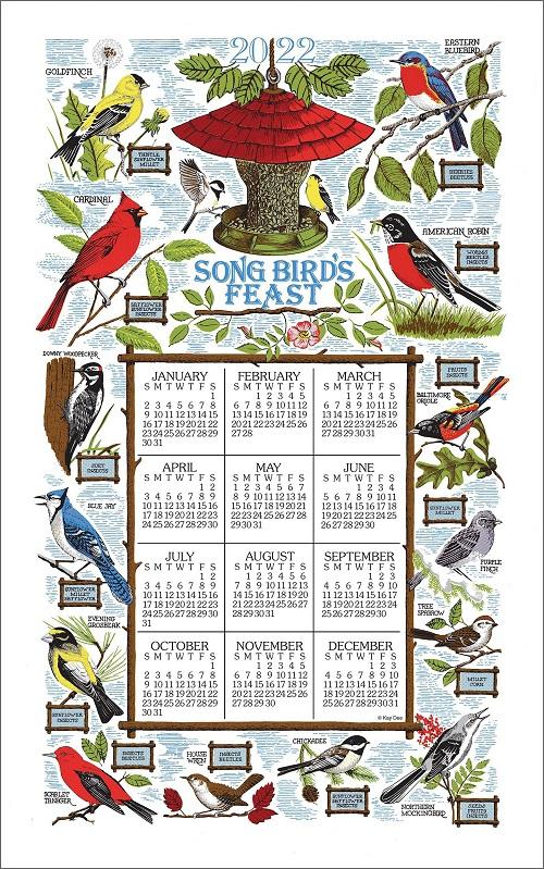 2022 Linen Calendar Towel (3378)