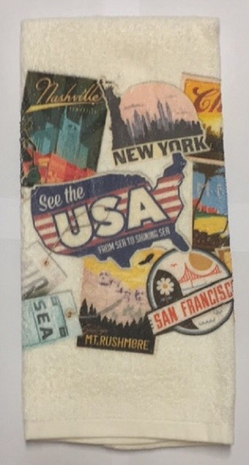 Stevens (04-117) American Travel Terry Towel