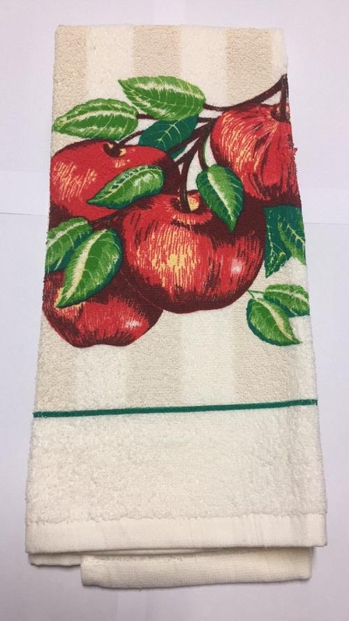 ApplesTerryTowelLarge
