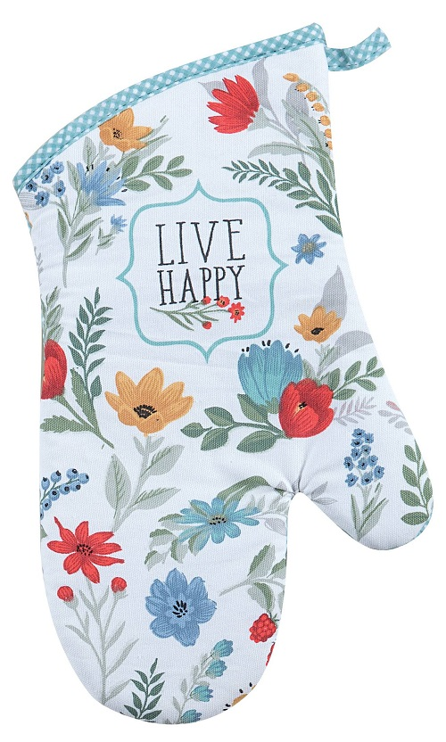 Kay Dee (R3945) Blooming Thoughts Oven Mitt