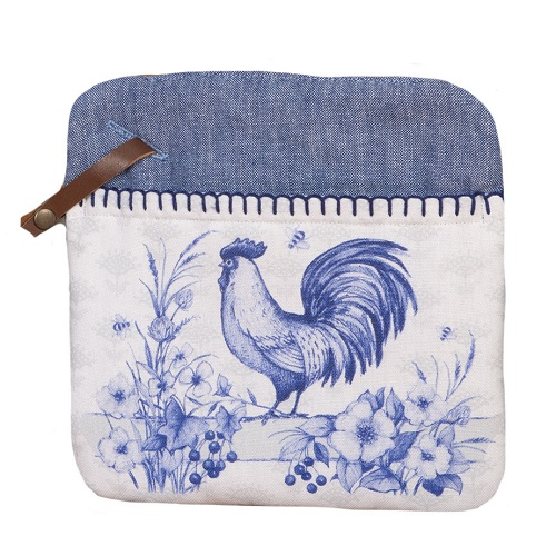 Kay Dee (R6862) Blue Rooster Pocket Mitt