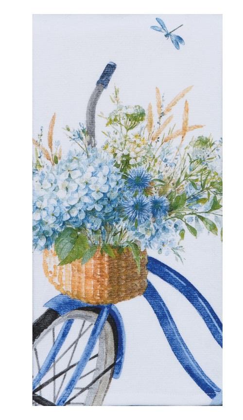 Kay Dee (R6980) Bohemian Blue Bike Dual Purpose Terry Towel