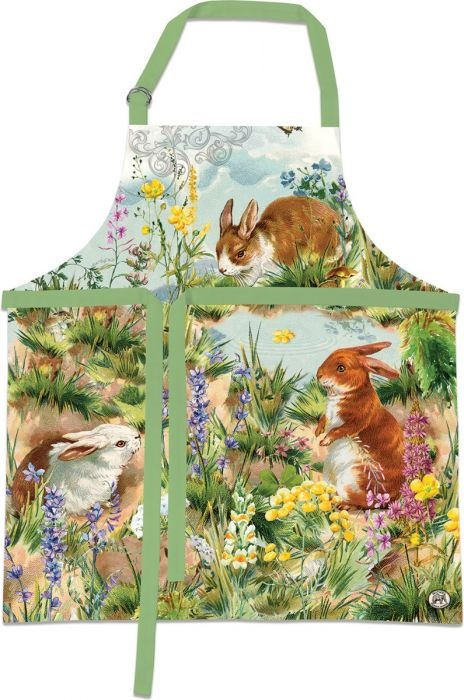 Michel Design Works (APR337) Bunny Hollow Apron