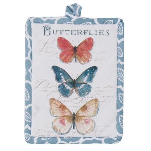 ButterflyGardenPotHolderLarge