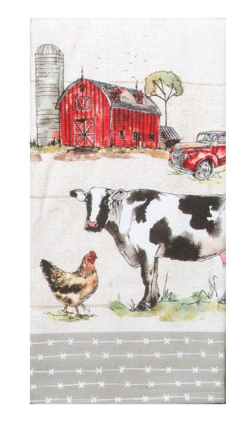Kay Dee (R4770) Country Life Dual Purpose Terry Towel