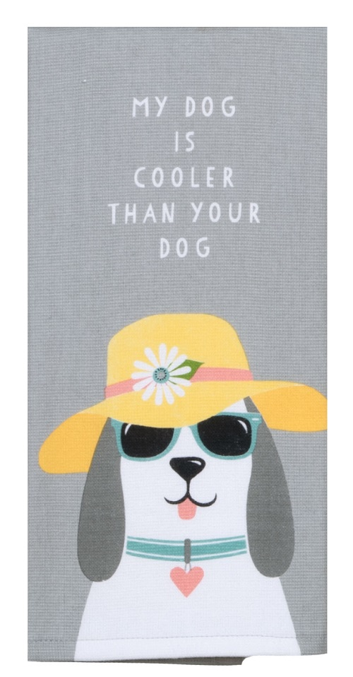 Kay Dee (R4650) Dog Patch Cool Dog Dual Purpose Terry Towel