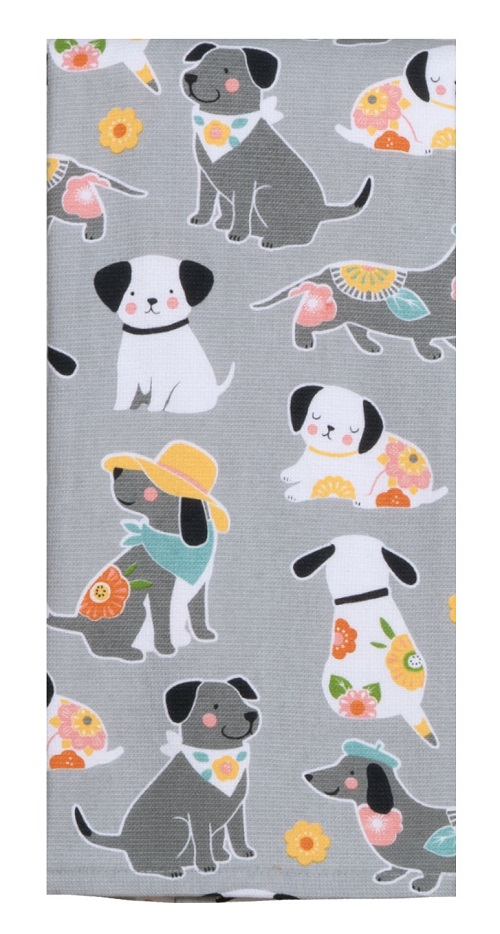 Kay Dee (R4640) Dog Patch Dual Purpose Terry Towel