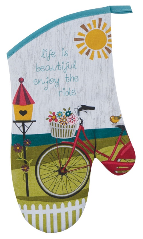 Kay Dee (R3205) Enjoy The Ride Oven Mitt