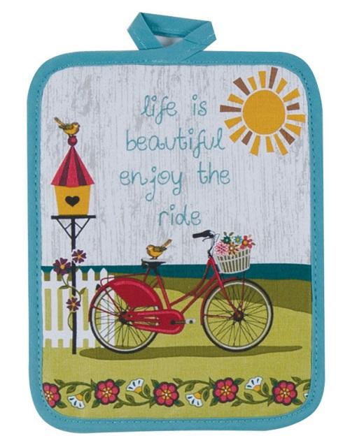Kay Dee (R3202) Enjoy The Ride Potholder