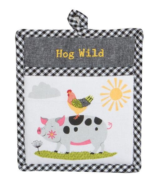 Kay Dee (R4842) Farm Charm Pig Pocket Mitt