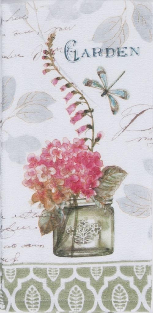 FlowerGardenTerryTowelLarge
