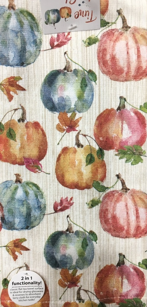 Kay Dee (H3530) Time To Share Autumn Inspired Dual Purpose Terry Towel