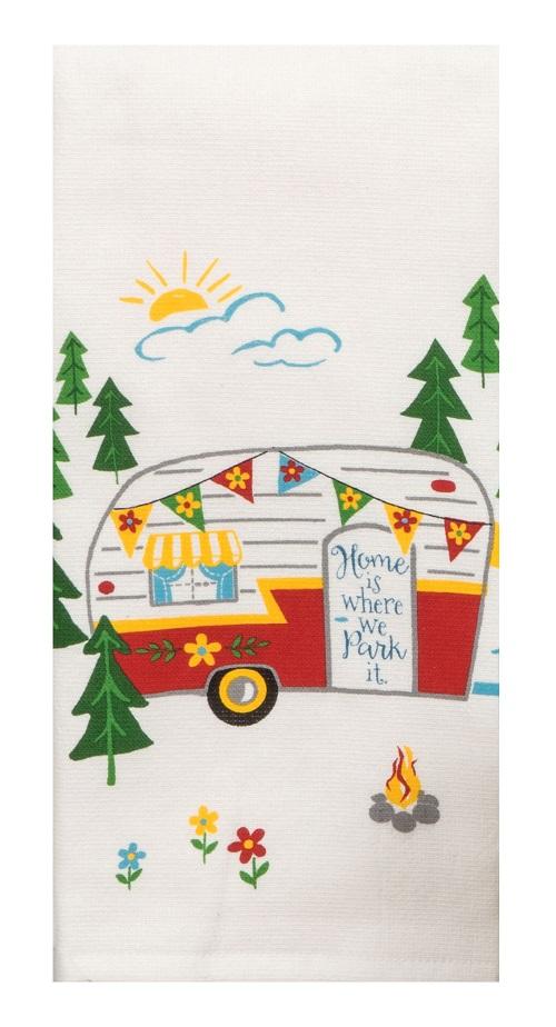 Kay Dee (R4250) Happy Camper Dual Purpose Terry Towel
