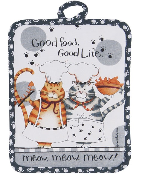 Kay Dee (R2632) Happy Cat Potholder