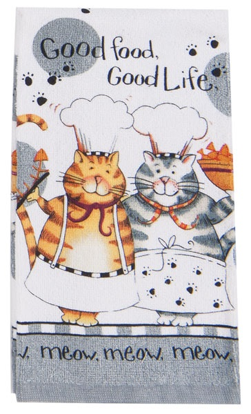 Kay Dee (R2630) Happy Cat Terry Towel